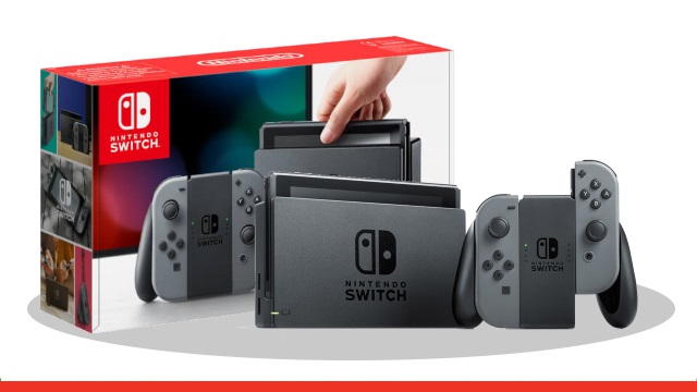 Nintendo Switch Grey Console Trade Offer