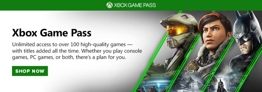 game pass banner
