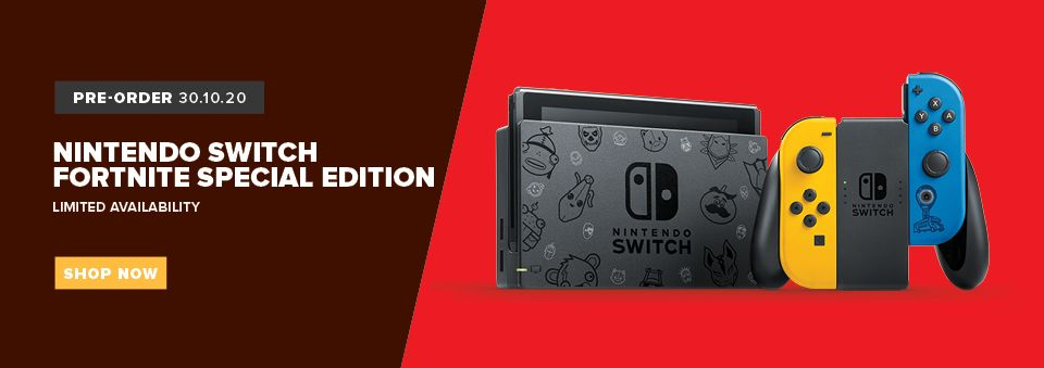 switch fortnite special edition console
