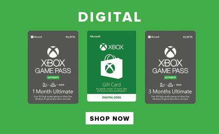 xbox game pass, Xbox Live Gold, digital games & gift cards