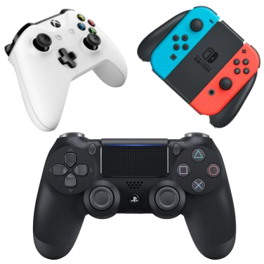 ps4, xbox one, pc & switch controllers