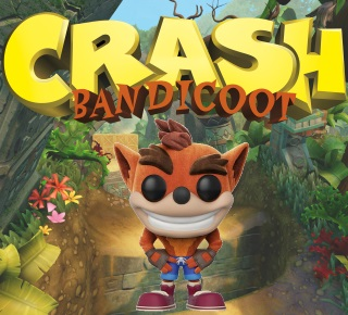 Crash Bandicoot Pop Vinyl