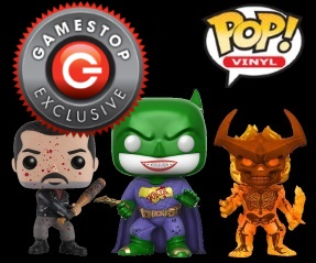 GameStop Exclusive Pop Vinyl