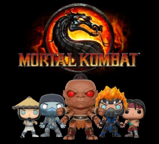 Mortal Kombat Pop Vinyl