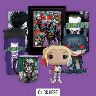 DC Villians Merchandise at Gamestop